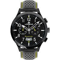 orologio cronografo uomo Lorenz Granpremio 030105GG