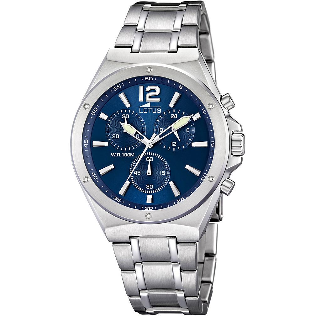 280674f23855 orologio cronografo uomo Lotus Chrono 10118 3 cronografi Lotus
