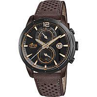 orologio cronografo uomo Lotus Chrono 18368/1