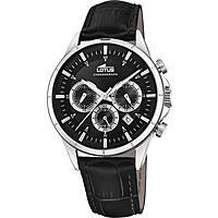 orologio cronografo uomo Lotus Chrono 18372/4