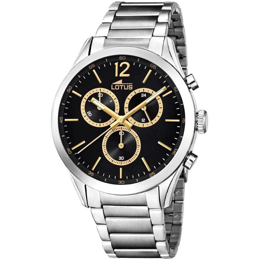 c50e646c0035 orologio cronografo uomo Lotus Minimalist 18114 4 cronografi Lotus
