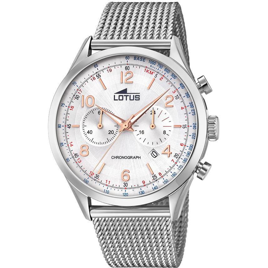 8e0b2222056b orologio cronografo uomo Lotus Smart Casual 18555 1 cronografi Lotus