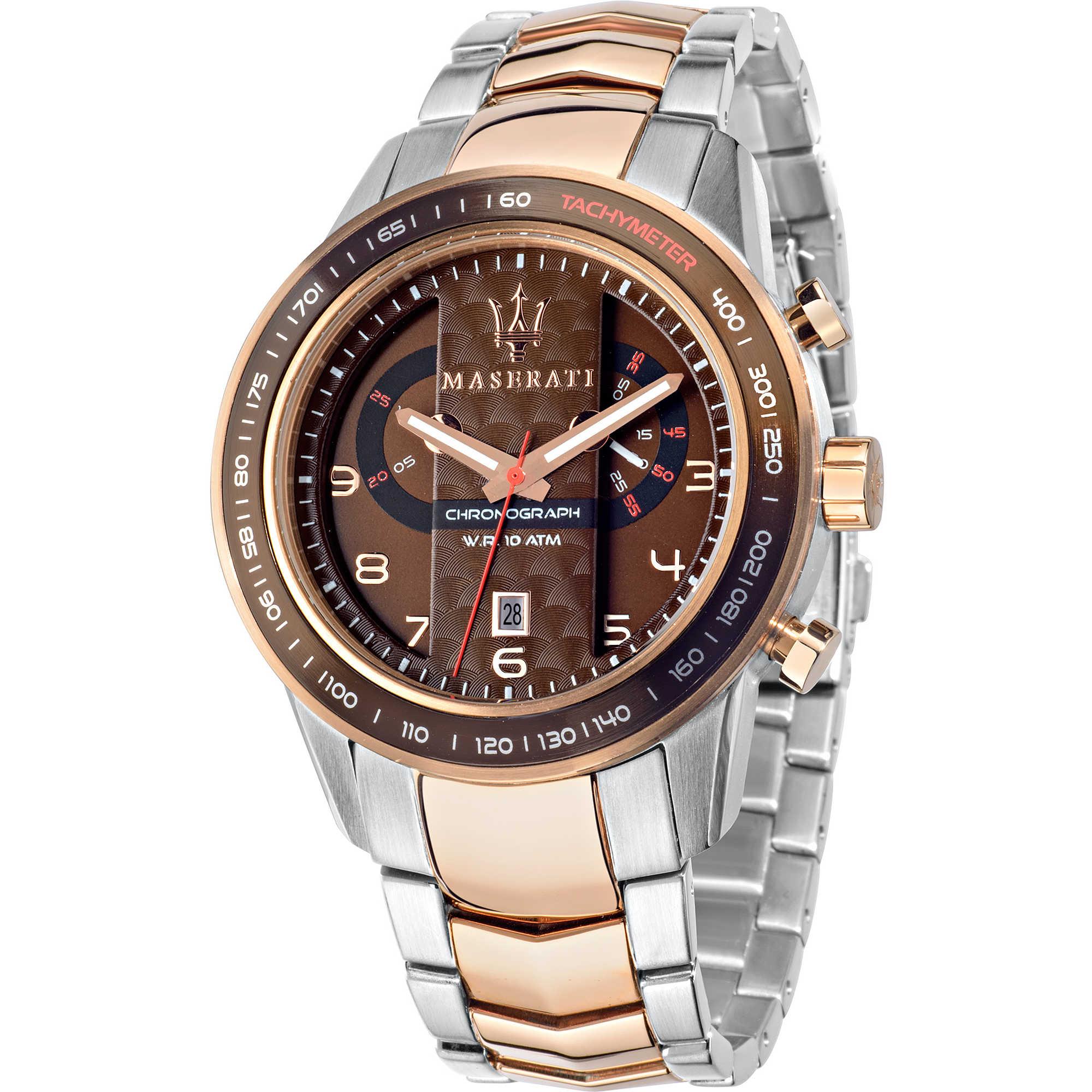 orologio cronografo uomo maserati corsa r8873610004 cronografi