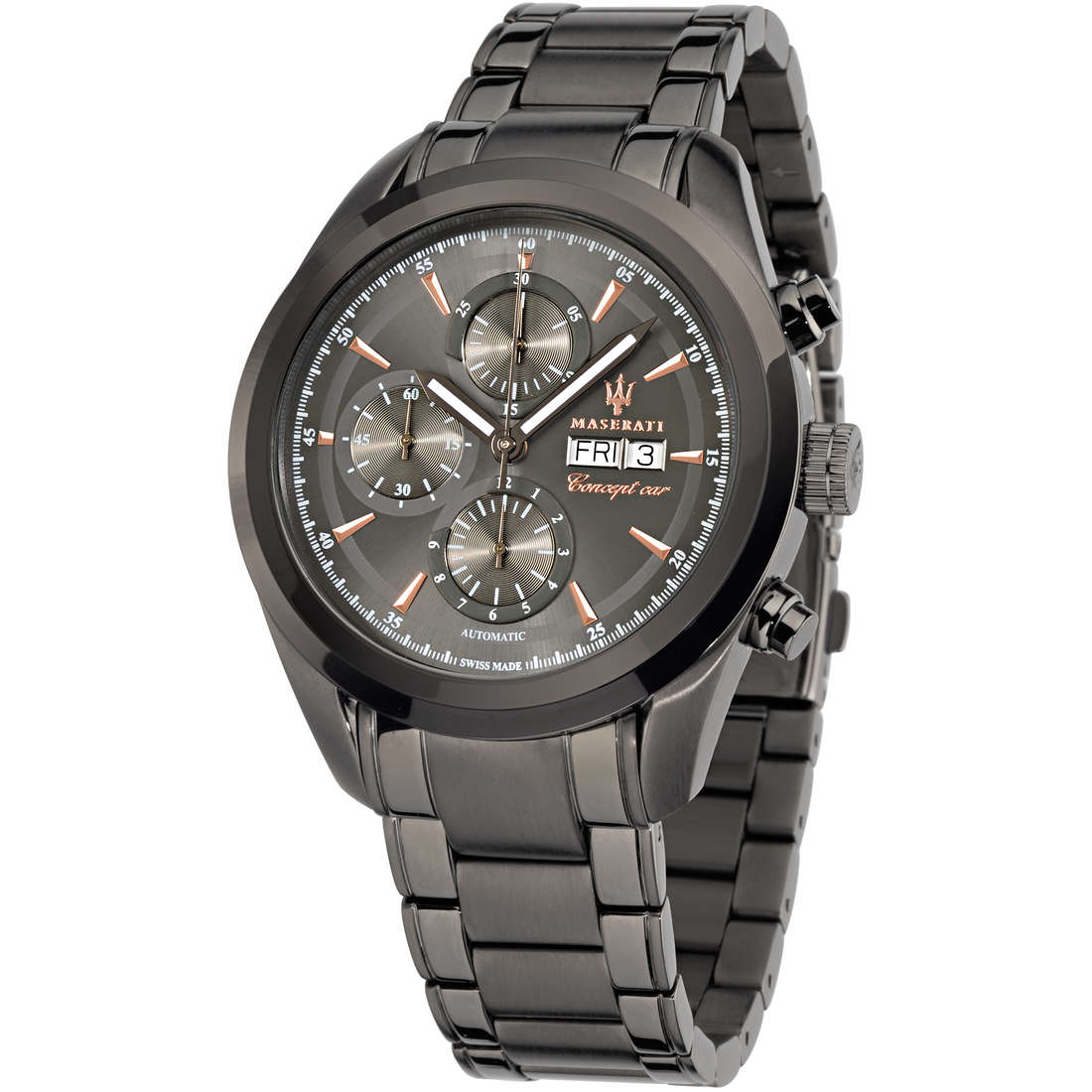 orologio cronografo uomo Maserati Traguardo R8843612001