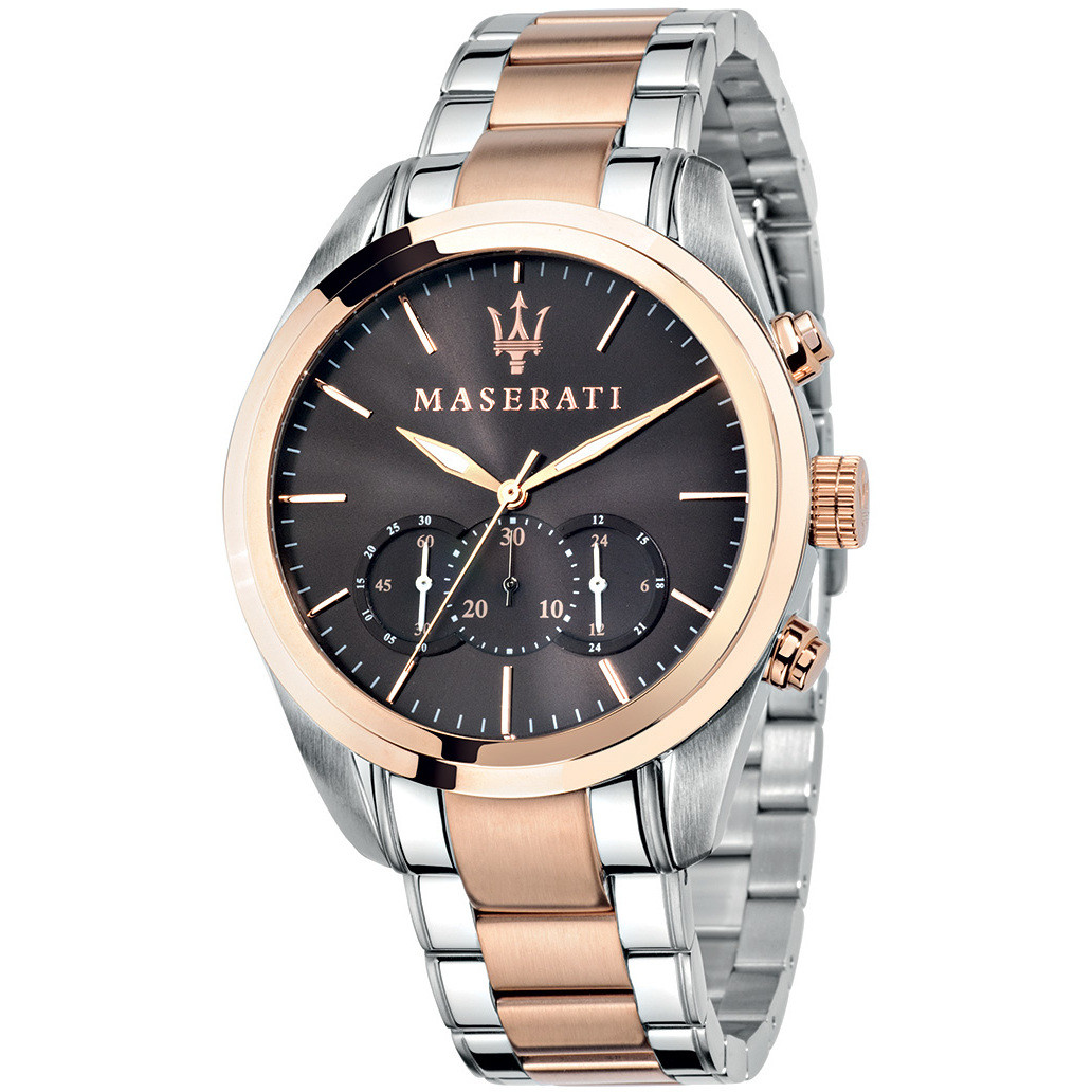orologio cronografo uomo Maserati Traguardo R8873612003