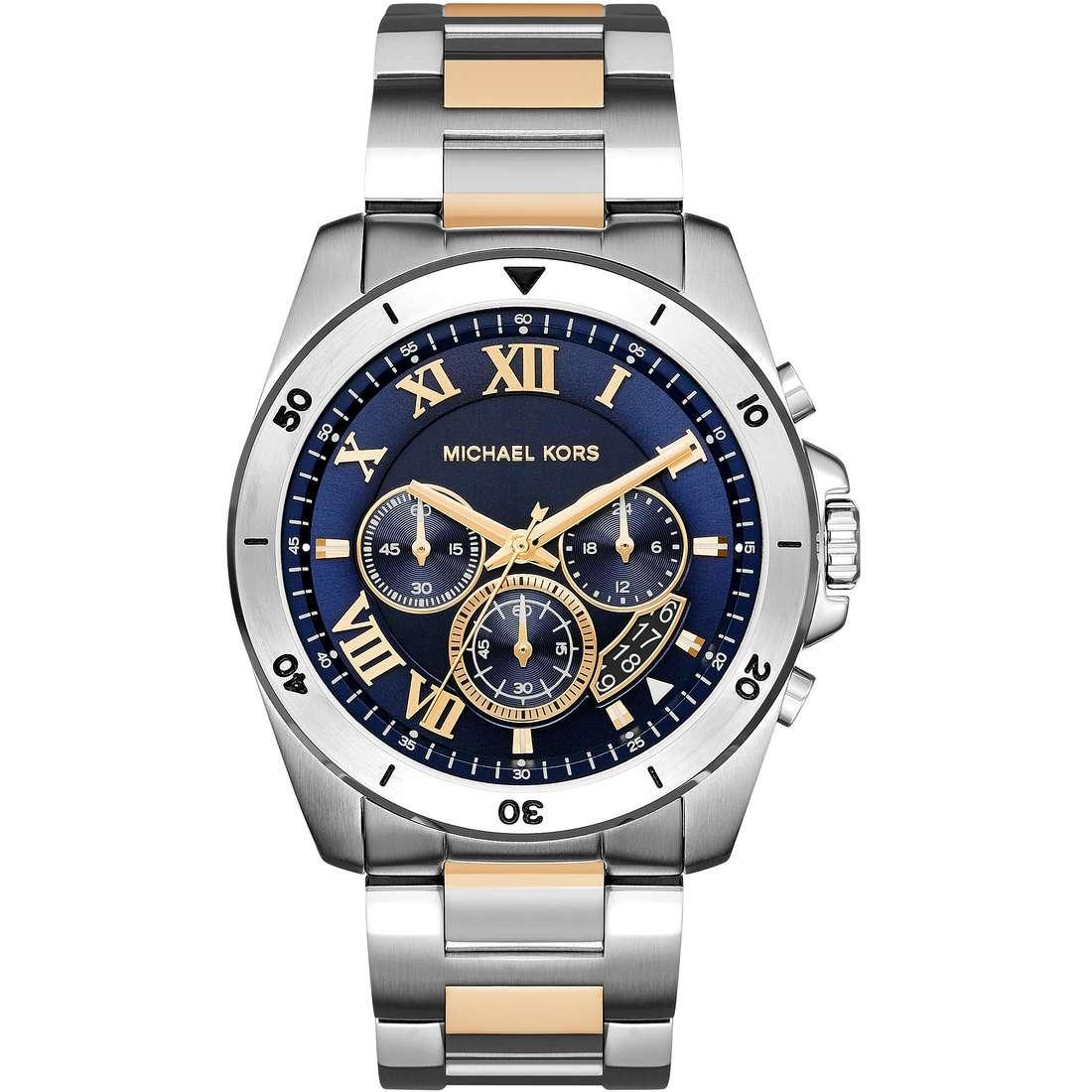 orologio cronografo uomo Michael Kors Brecken MK8437