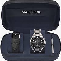 orologio cronografo uomo Nautica Lisbon NAPLSN002