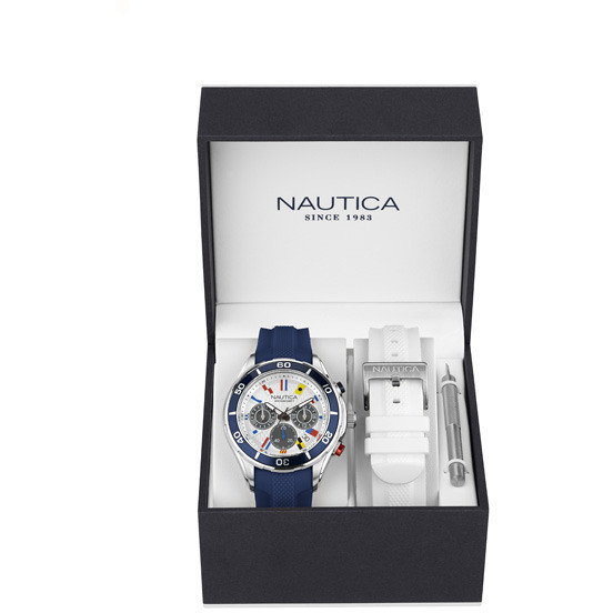 orologio cronografo uomo Nautica NAD18530G
