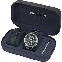 orologio cronografo uomo Nautica NAPLSN001