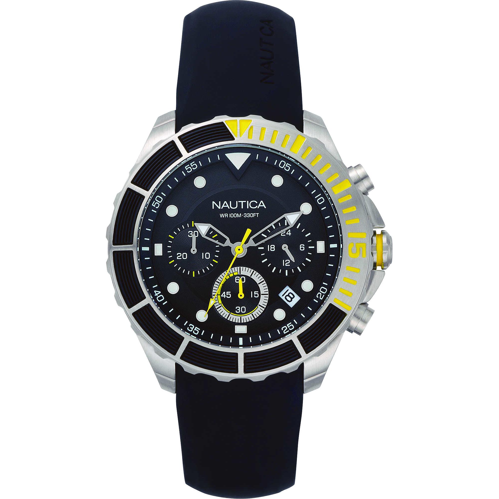 molto carino 01b77 4084b orologio cronografo uomo Nautica Puerto Rico NAPPTR002