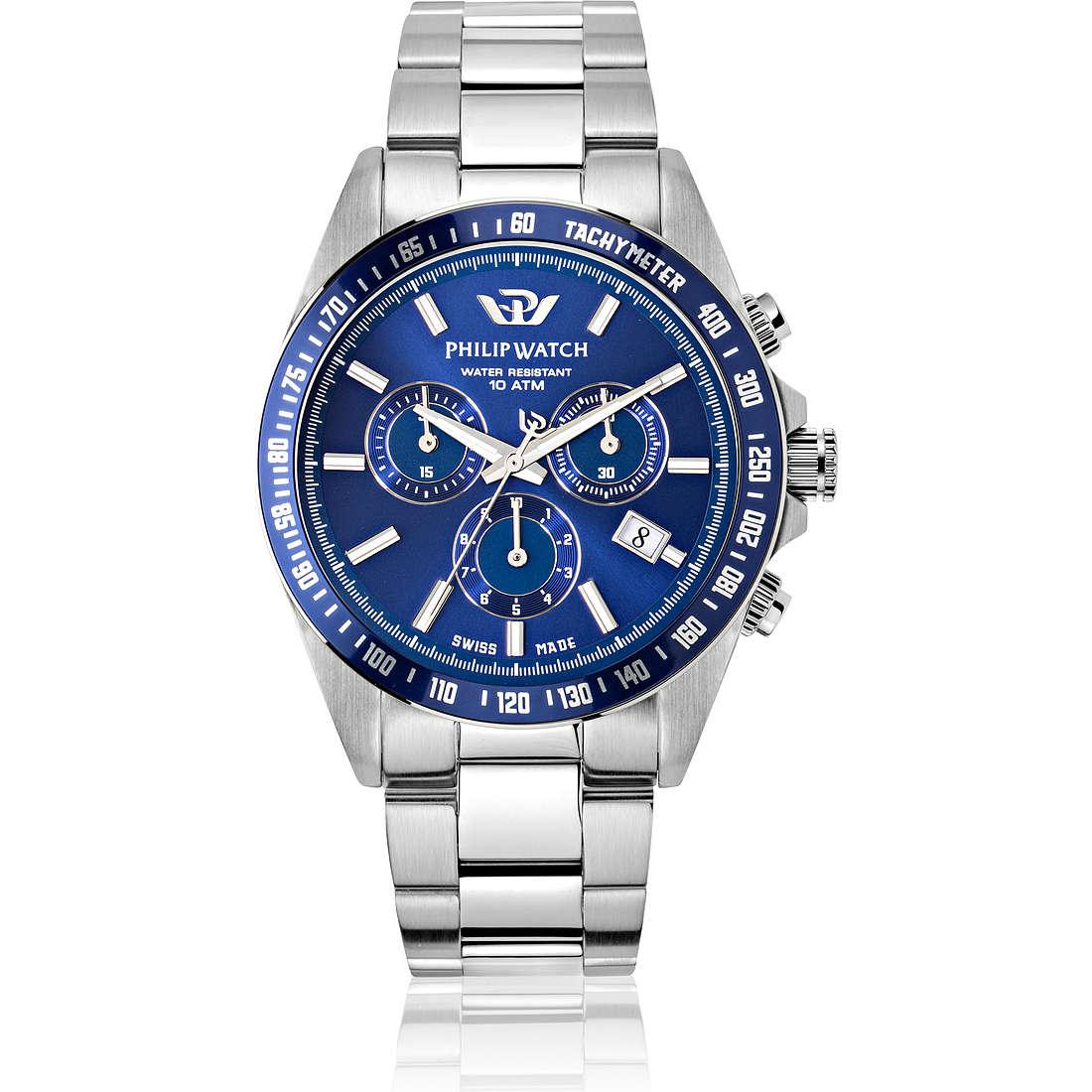 orologio cronografo uomo Philip Watch Caribe R8273607005