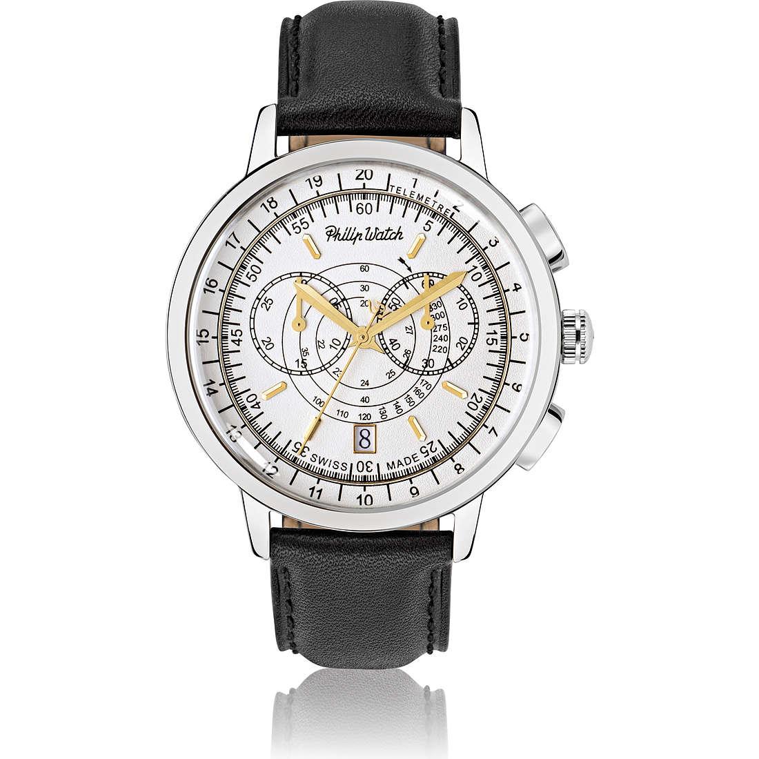 orologio cronografo uomo Philip Watch Grand Archive R8271698003