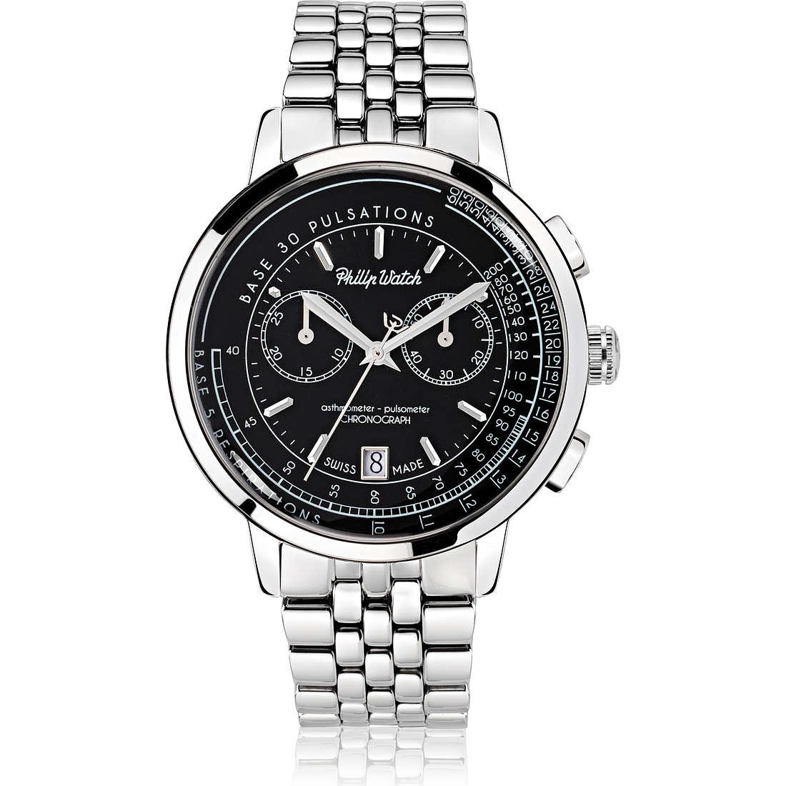 orologio cronografo uomo Philip Watch Grand Archive R8273698001