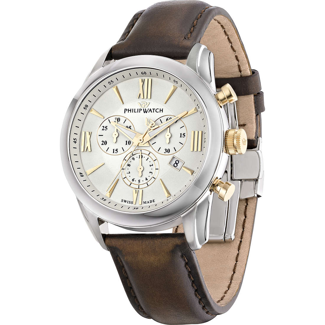 orologio cronografo uomo Philip Watch Seahorse R8271996001