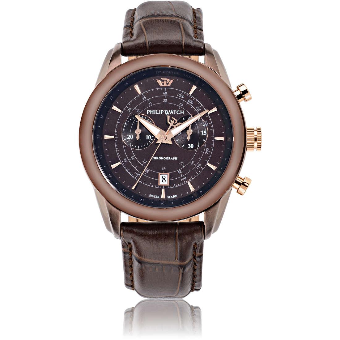 orologio cronografo uomo Philip Watch Seahorse R8271996005