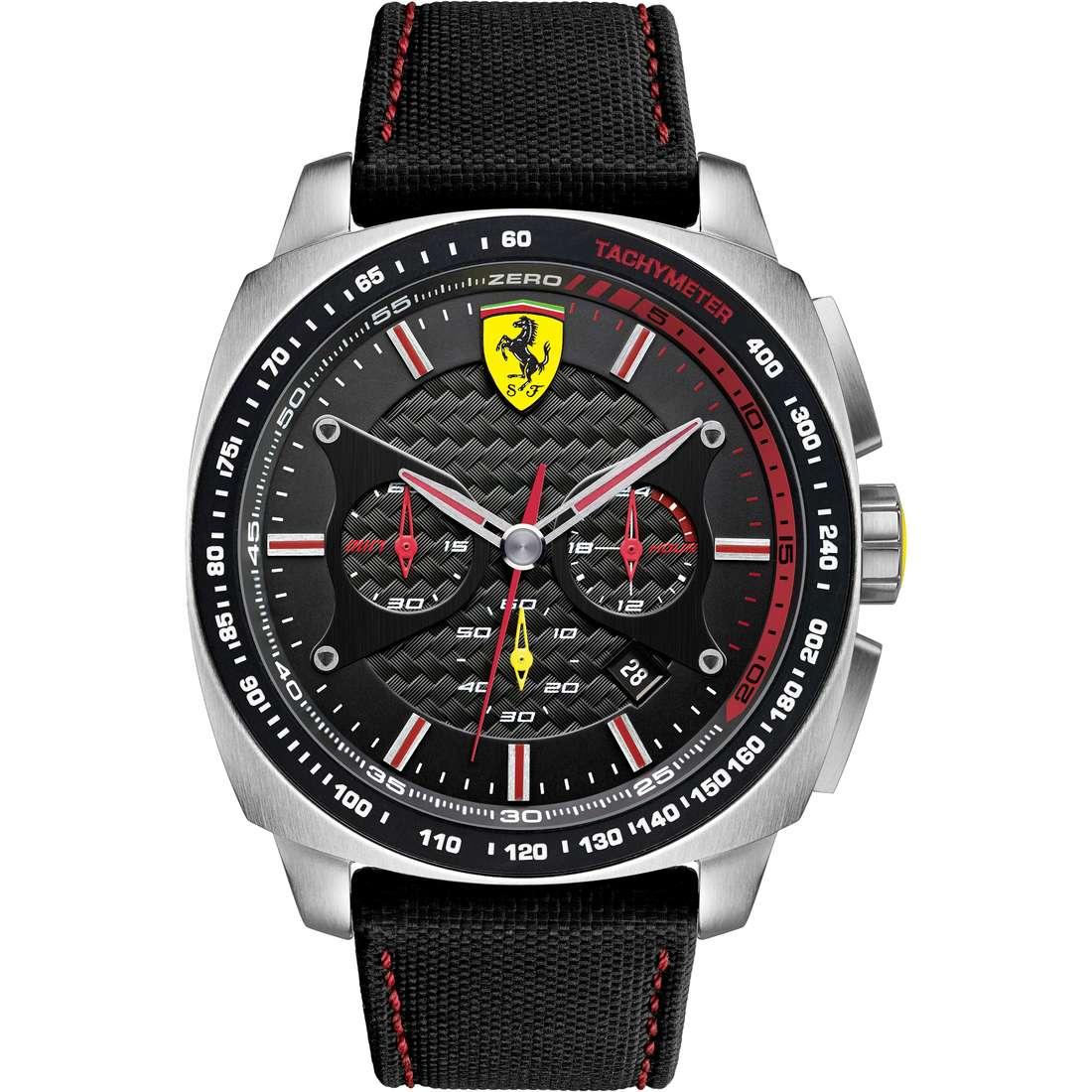 orologio cronografo uomo Scuderia Ferrari Aero FER0830166