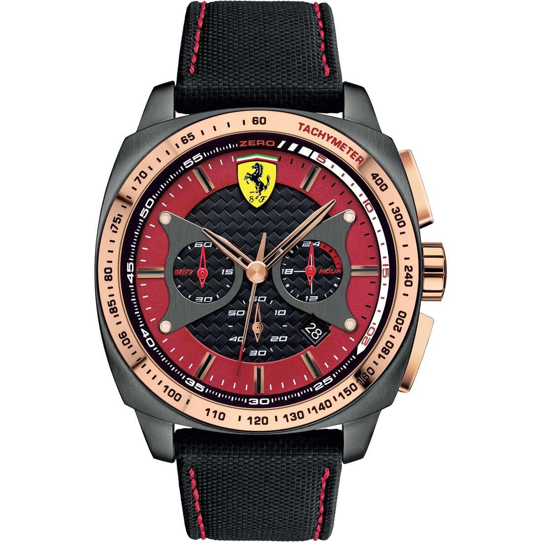 orologio cronografo uomo Scuderia Ferrari Aero FER0830294