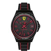 orologio cronografo uomo Scuderia Ferrari Pilota FER0830421