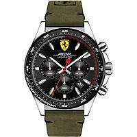 orologio cronografo uomo Scuderia Ferrari Pilota FER0830433