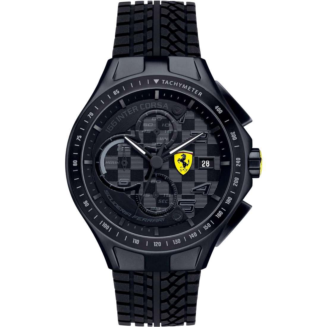 orologio cronografo uomo Scuderia Ferrari Race FER0830105