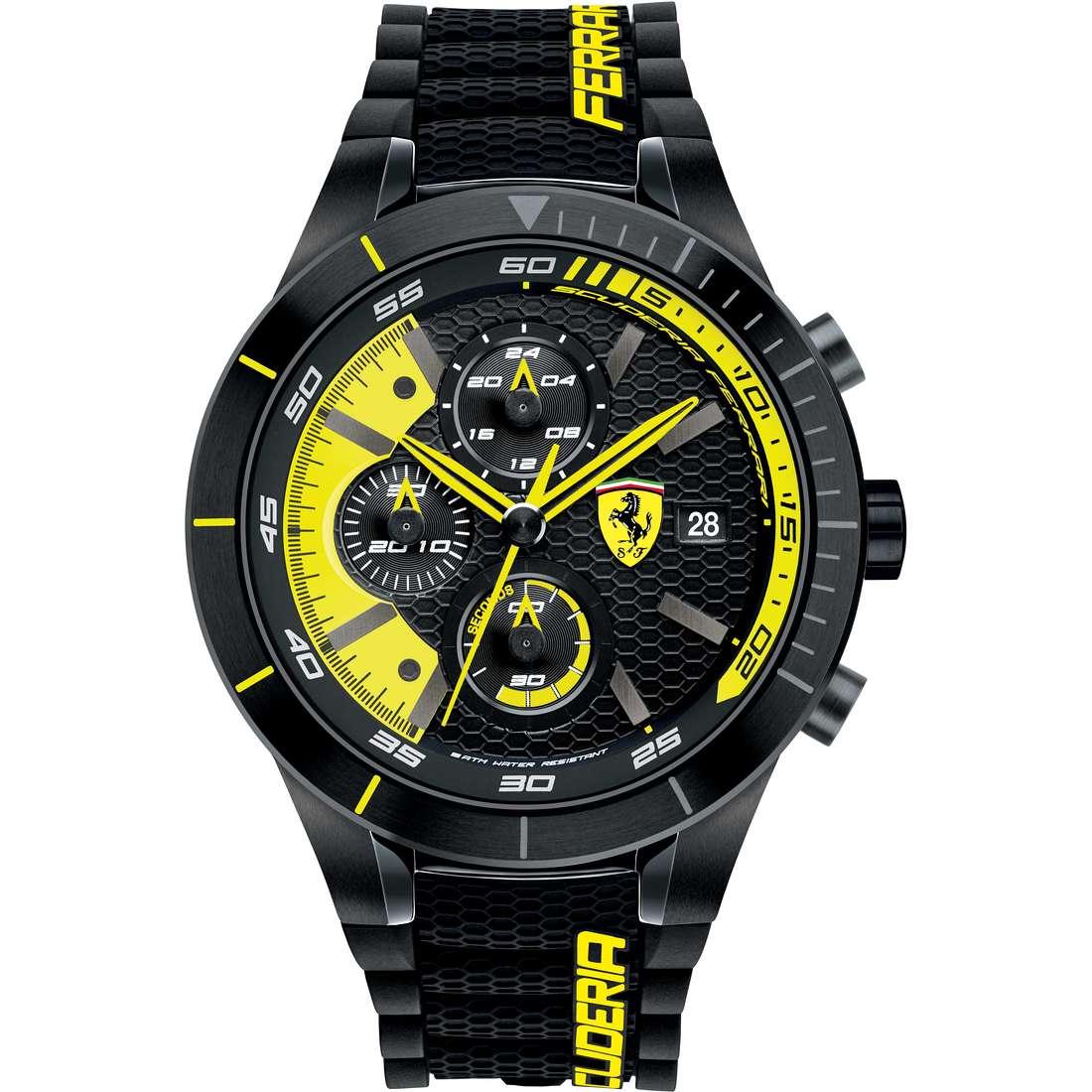 orologio cronografo uomo Scuderia Ferrari Red FER0830261