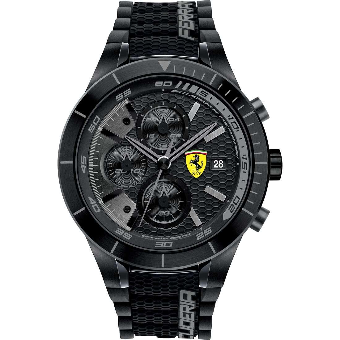 orologio cronografo uomo Scuderia Ferrari Red FER0830262