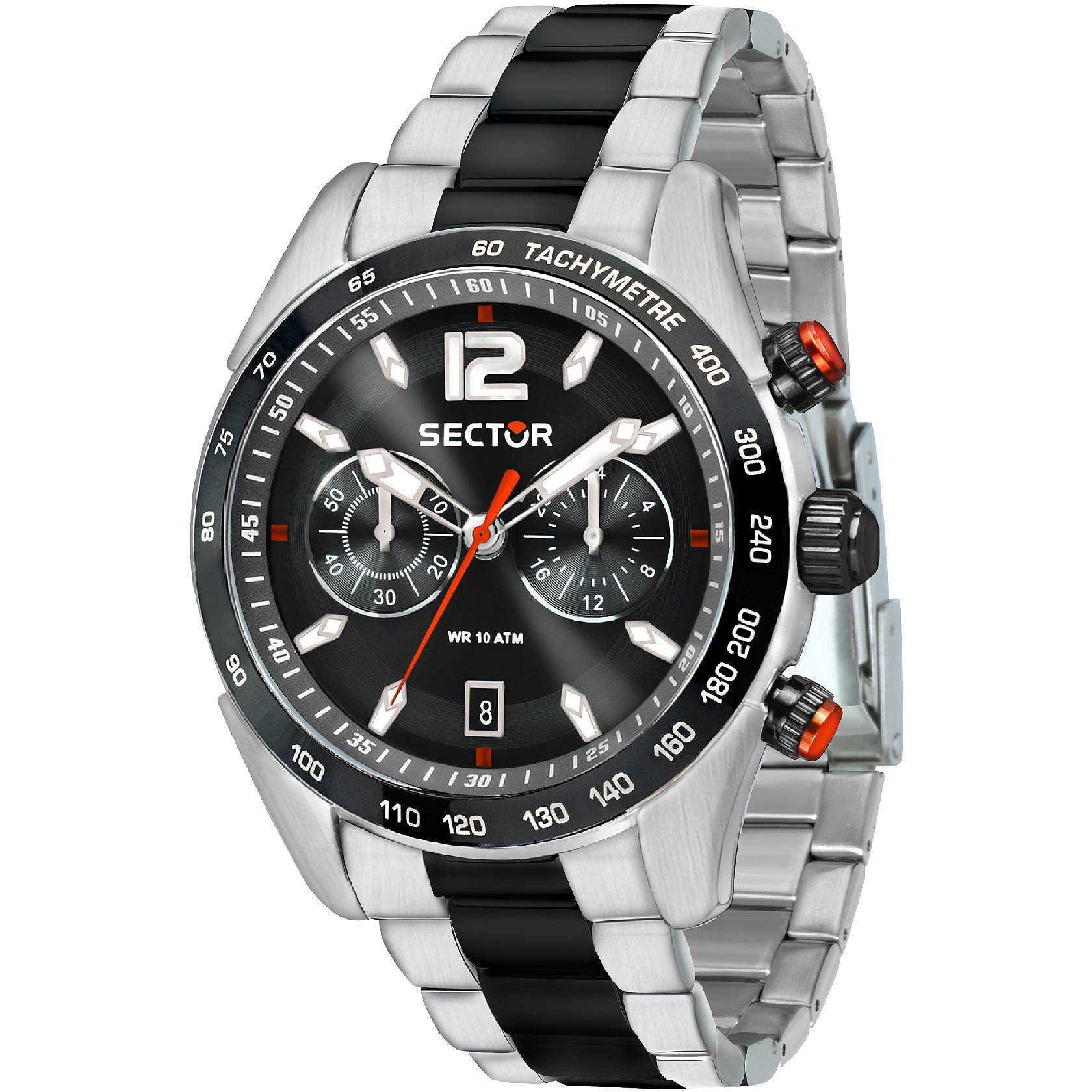 Orologio cronografo uomo sector 330 r3273794005 cronografi for Pietro milano orologi