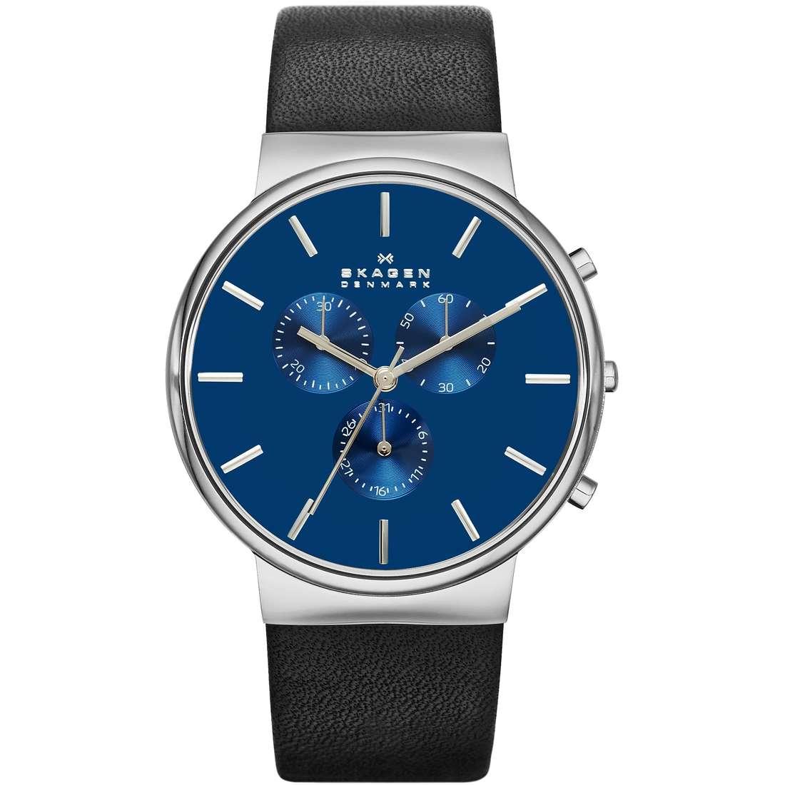 orologio cronografo uomo Skagen Ancher SKW6105