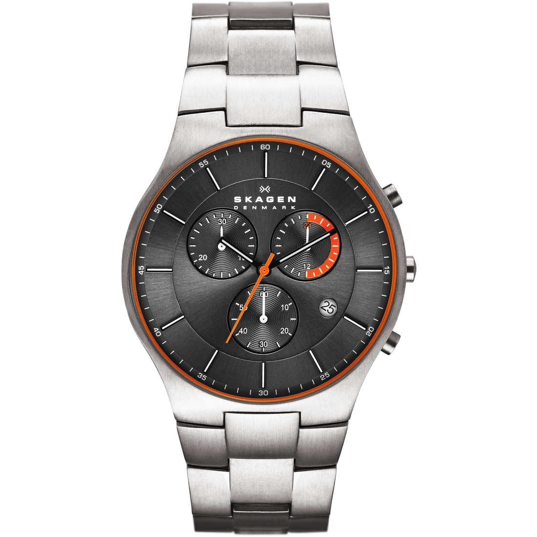orologio cronografo uomo Skagen SKW6076