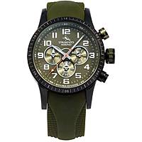 orologio cronografo uomo Strumento Marino Missouri SM132S/BK/VR/VR