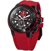orologio cronografo uomo Strumento Marino Saint-Tropez SM130S/BK/RS/RS