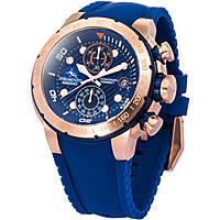 orologio cronografo uomo Strumento Marino Saint-Tropez SM130S/RG/BL/BL