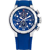 orologio cronografo uomo Strumento Marino Saint-Tropez SM130S/SS/BL/BL