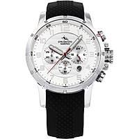 orologio cronografo uomo Strumento Marino Summertime SM125S/SS/BN