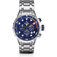 orologio cronografo uomo Strumento Marino Warrior SM109MB/SS/BL/AR