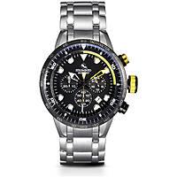 orologio cronografo uomo Strumento Marino Warrior SM109MB/SS/NR/GL