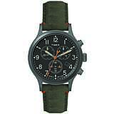 orologio cronografo uomo Timex Allied Canvas TW2R60200