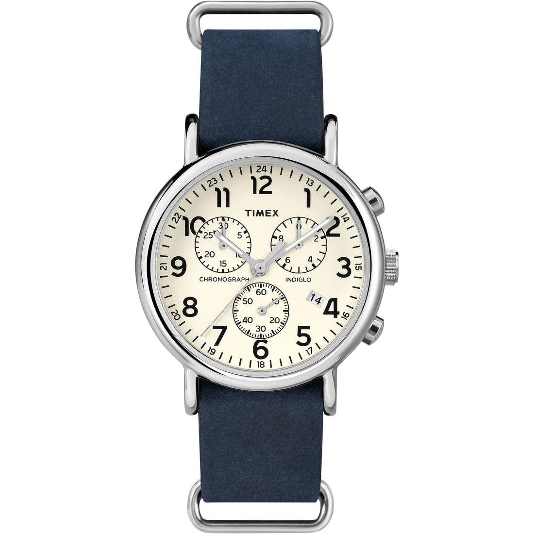 orologio cronografo uomo Timex Weekender TW2P62100