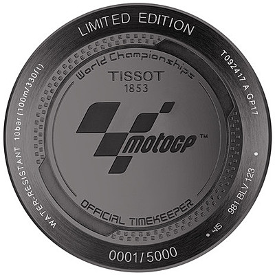 Orologio Cronografo Uomo Tissot T Race Motogp 2017 Limited Edition T0924173706100