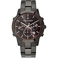 orologio cronografo uomo Trussardi Heritage R2473617001