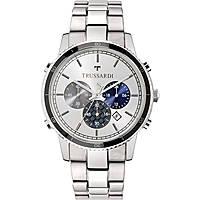 orologio cronografo uomo Trussardi Heritage R2473617002