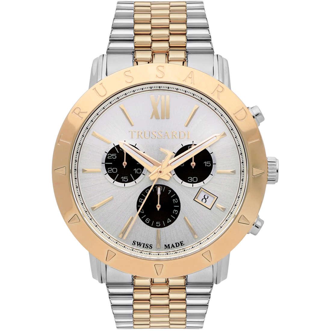 orologio cronografo uomo Trussardi Nestor R2473607001
