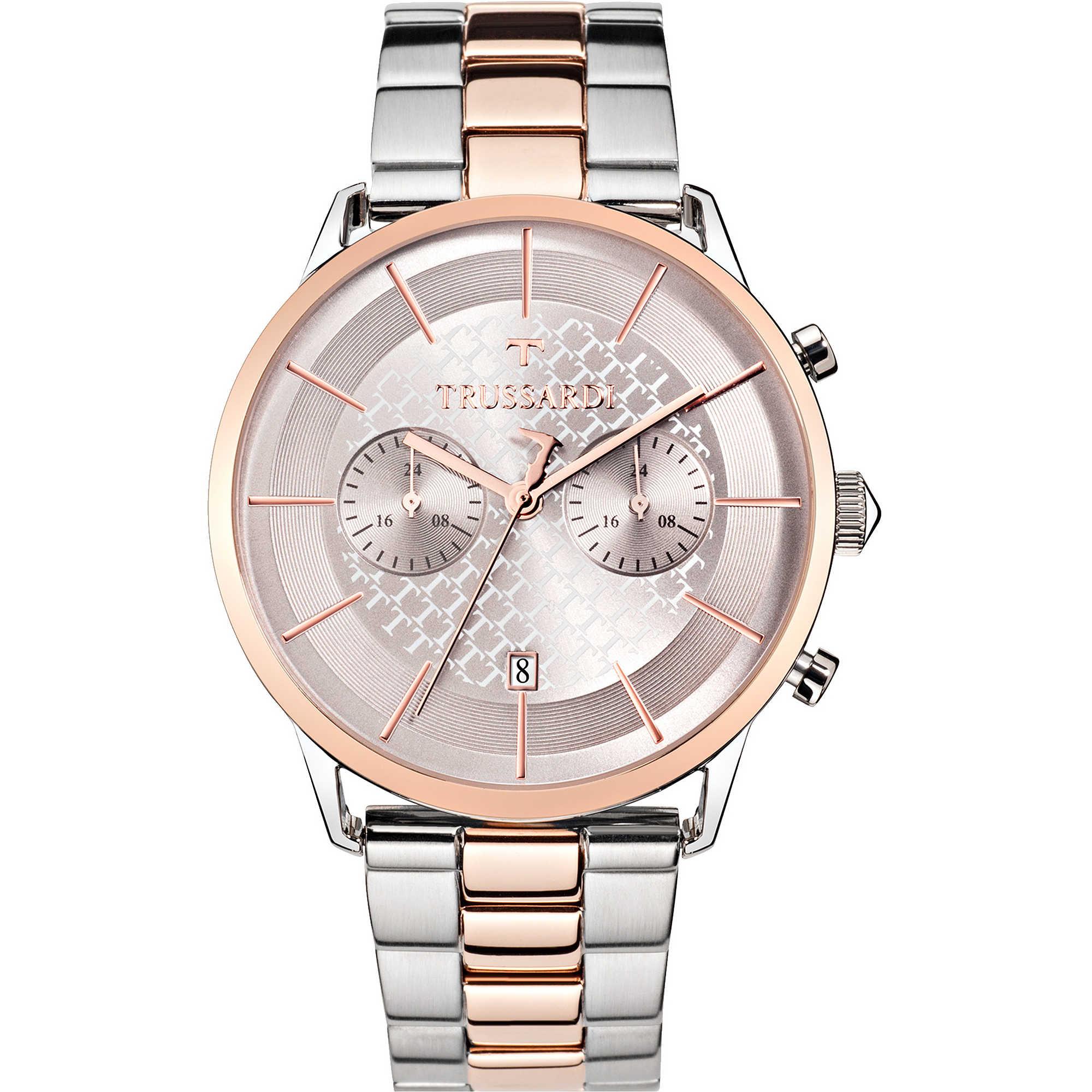 gamma molto ambita di calzature disegni attraenti orologio cronografo uomo Trussardi Vintage R2473616002