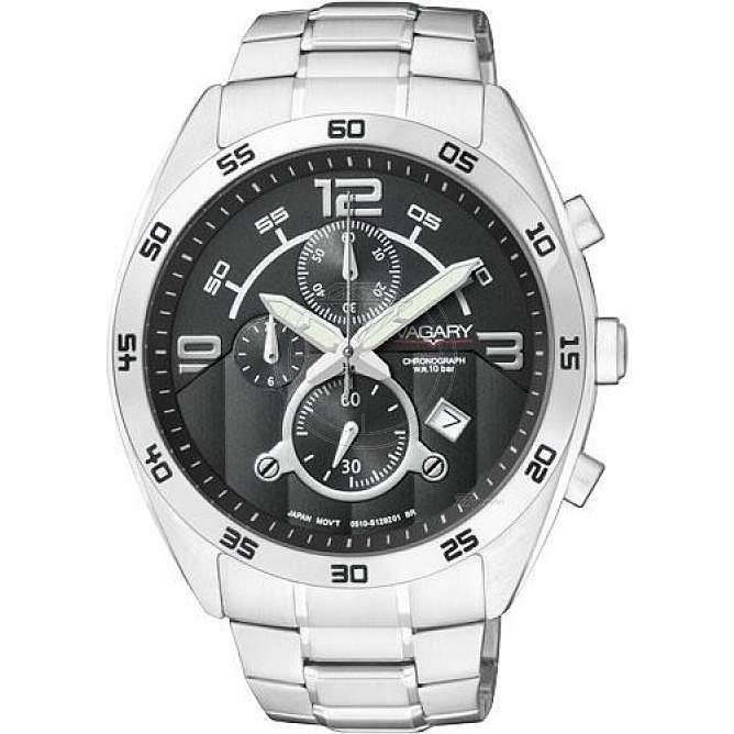 orologio cronografo uomo Vagary By Citizen IA8-512-51