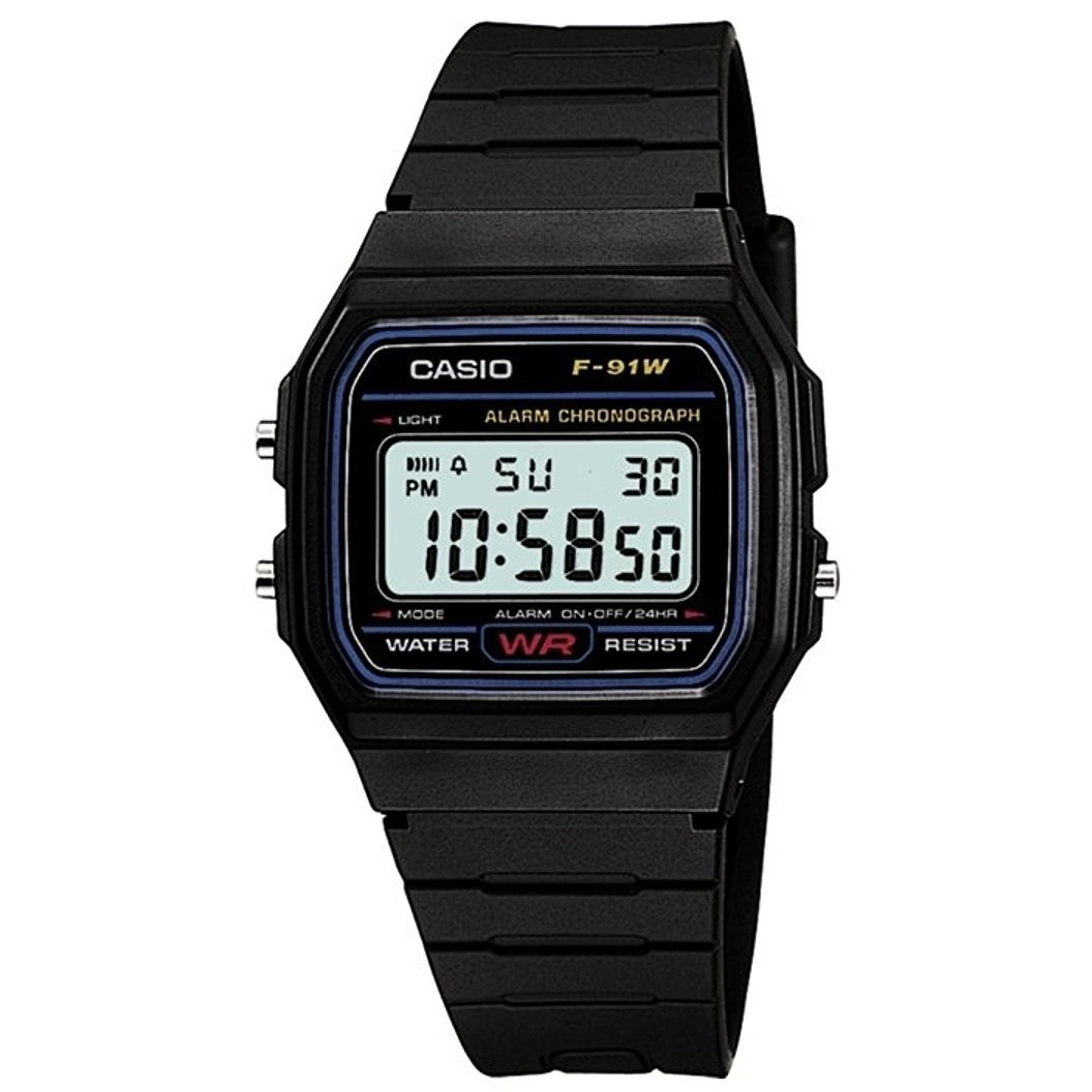 orologio digitale bambino Casio CASIO COLLECTION F,91W,1YER