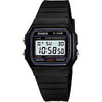 orologio digitale bambino Casio CASIO COLLECTION F-91W-1YER