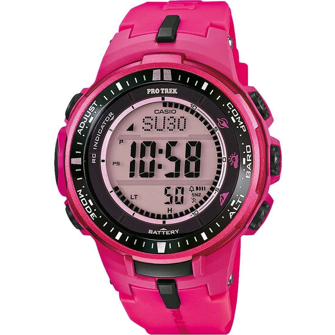 orologio digitale donna Casio PRO-TREK PRW-3000-4BER