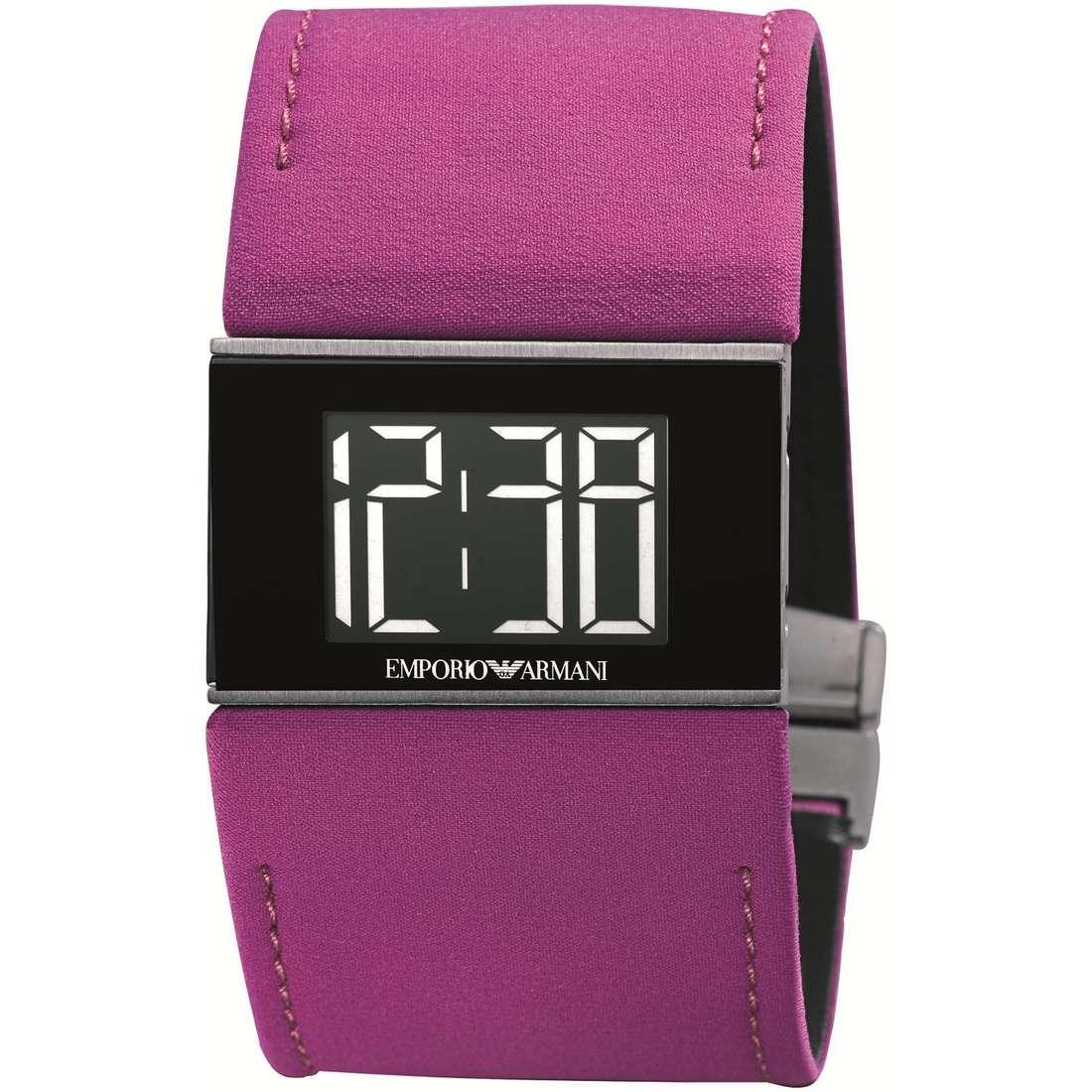 orologio digitale donna Emporio Armani AR0755