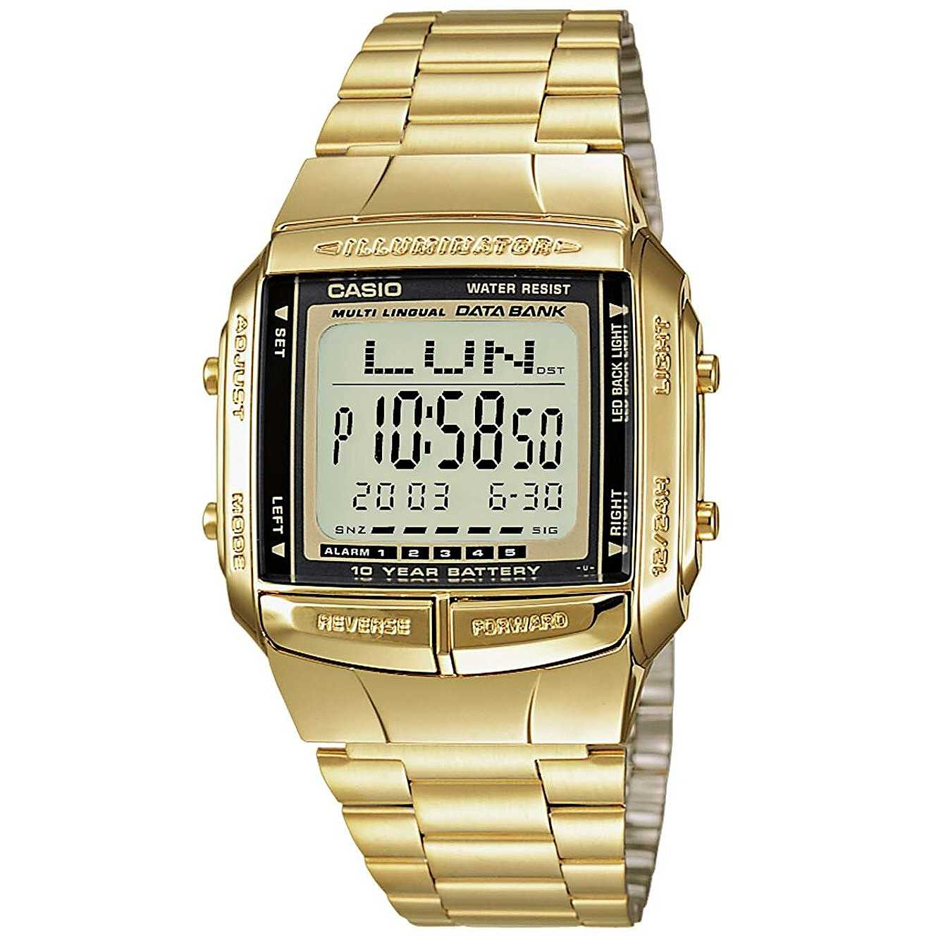 3faac5d85efd Orologio Digitale Unisex Casio Casio Collection DB-360GN-9AEF ...
