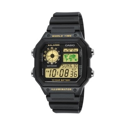 orologio digitale uomo Casio CASIO COLLECTION AE-1200WH-1BVEF